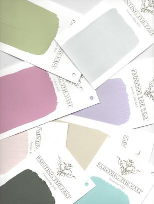 Touch of colours kleurenkaarten van Painting the Past