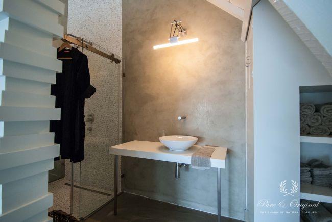 kalkverf in de badkamer – paint & decorations, Badkamer