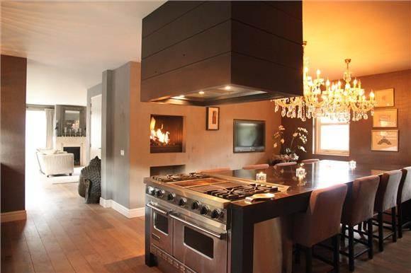 kalkverf in keuken