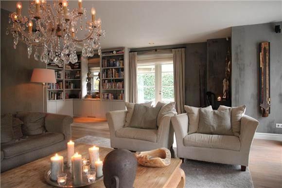 kalkverf in livingroom