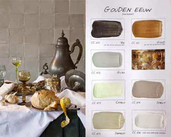 """Carte Colori Kleurenkaart """"Gouden Eeuw"""""""