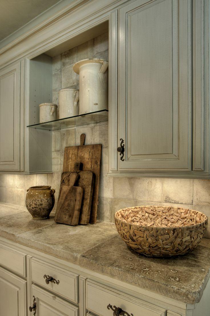 Keuken tegels verven: composiet aanrechtblad prachtig in elke ...