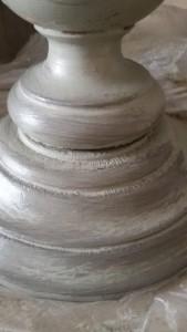 Painting the Past Paste Wax Carbon aanbrengen