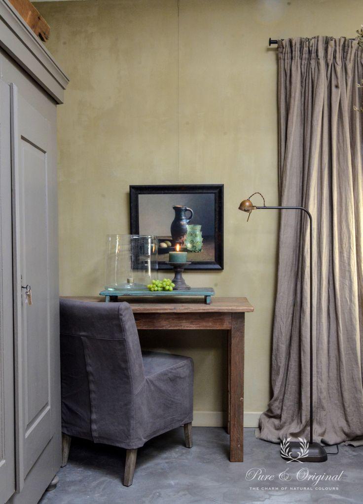 Pure&Original Kalkverf Fresco kleur: Castile Foam