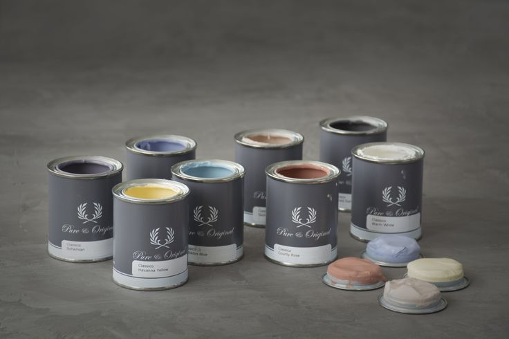 Pure and Original Paint testers