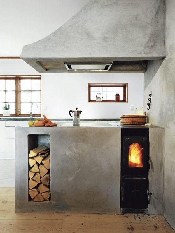 Beton Cire kitchen