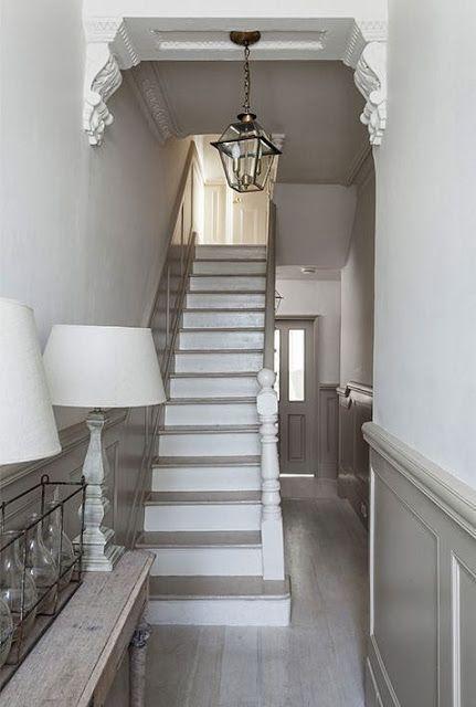 Painting the Past Top Coat geschikt voor het verwerken van trappen