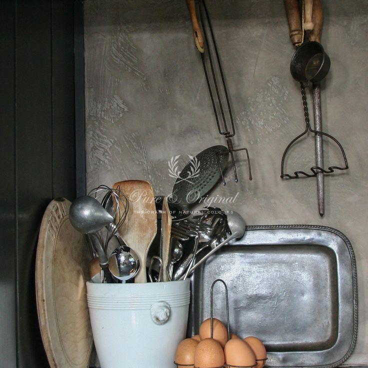 Betonlook in de keuken