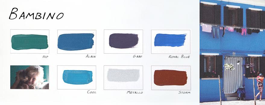 """Kleurenkaart """"Bambino"""" Carte Colori"""
